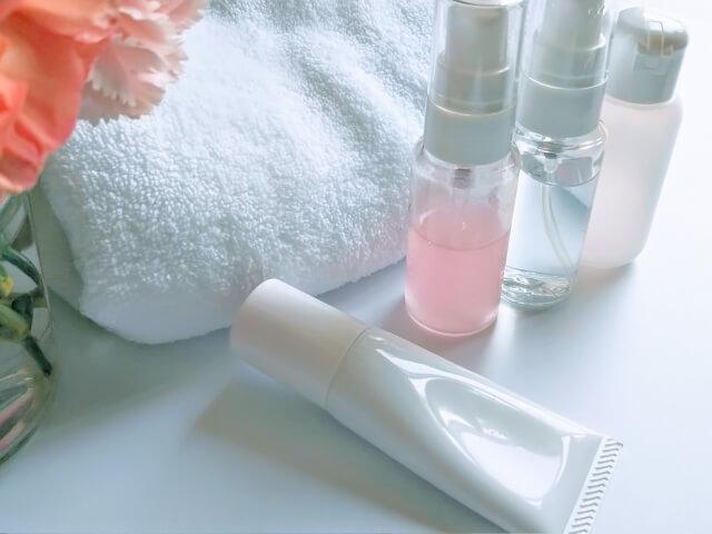 水分のある化粧品の処分方法や捨て方