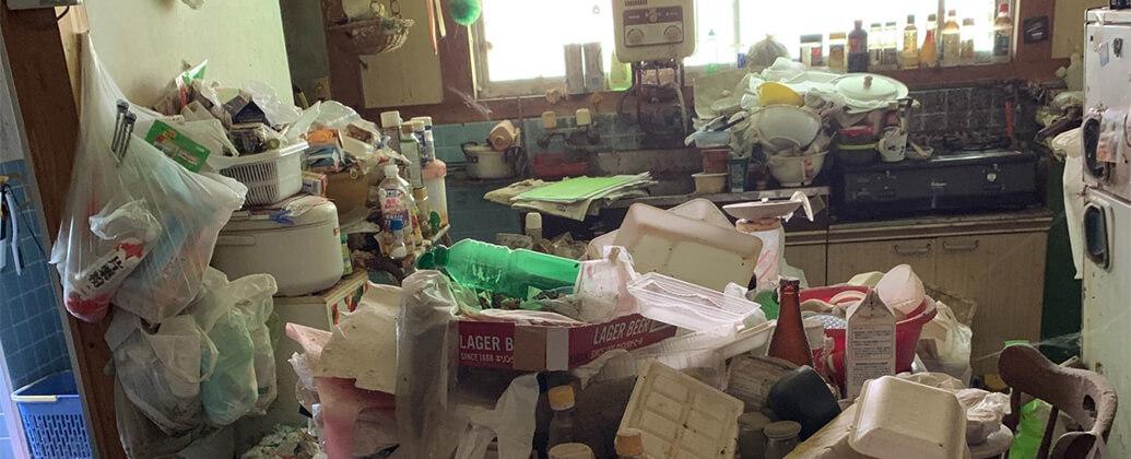 まるごとゴミ屋敷の清掃