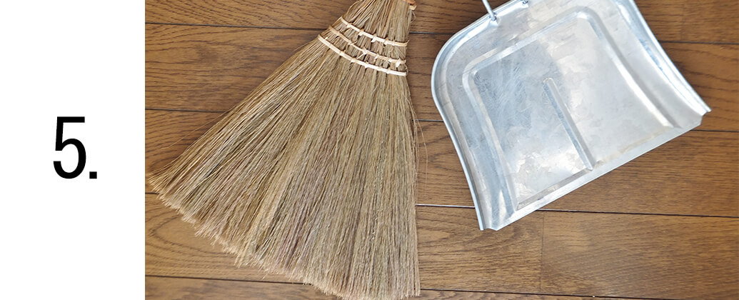 お部屋の掃除
