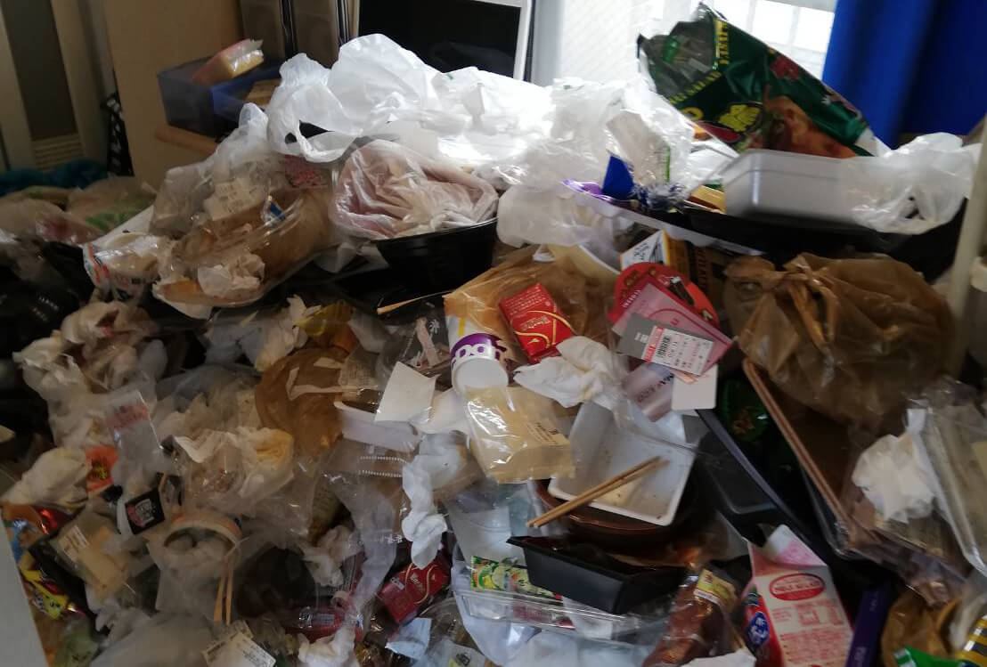 足立区K様のゴミ屋敷清掃事例