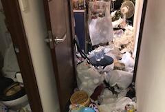 中央区Y様のゴミ屋敷清掃事例