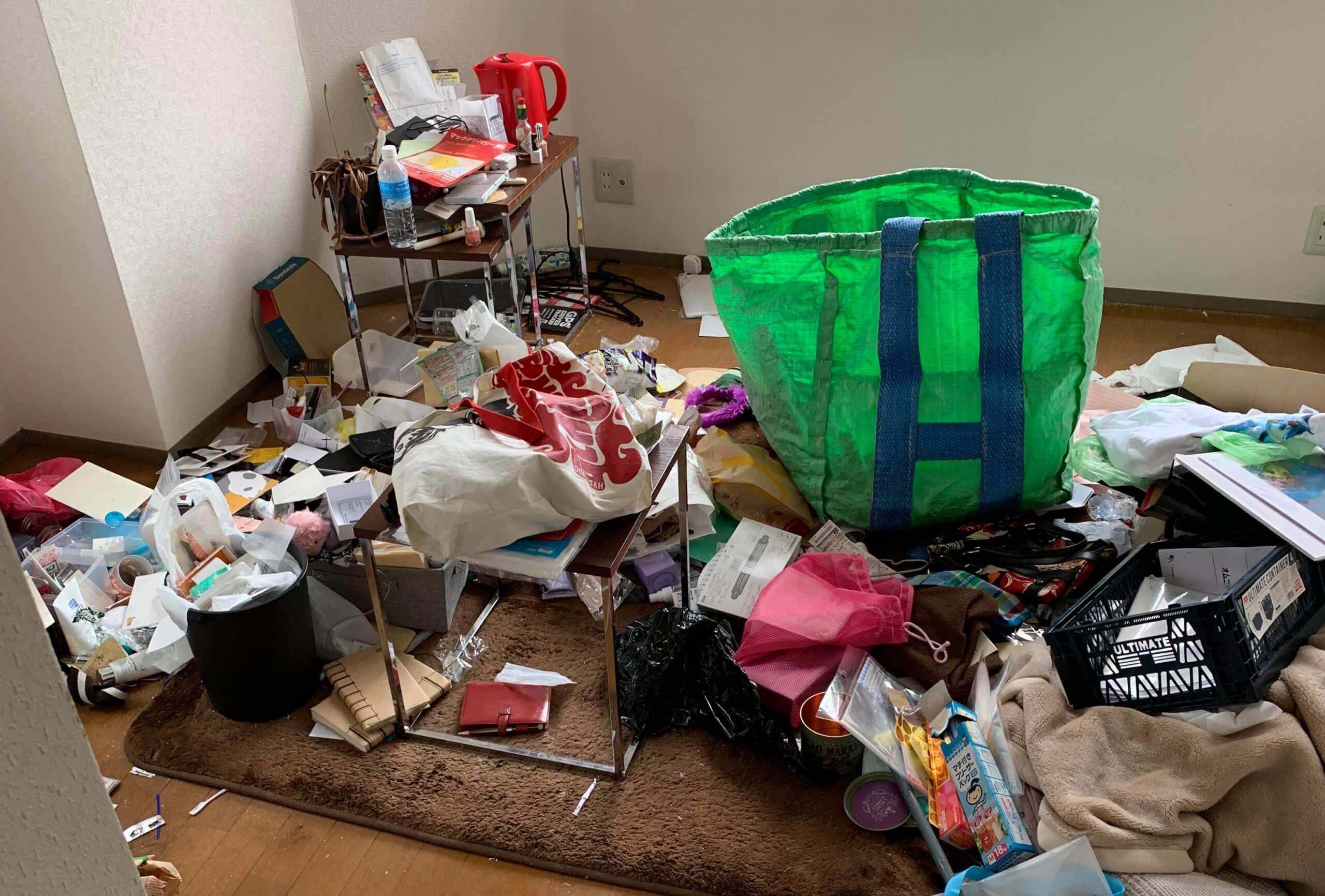 中央区S様の不用品回収事例
