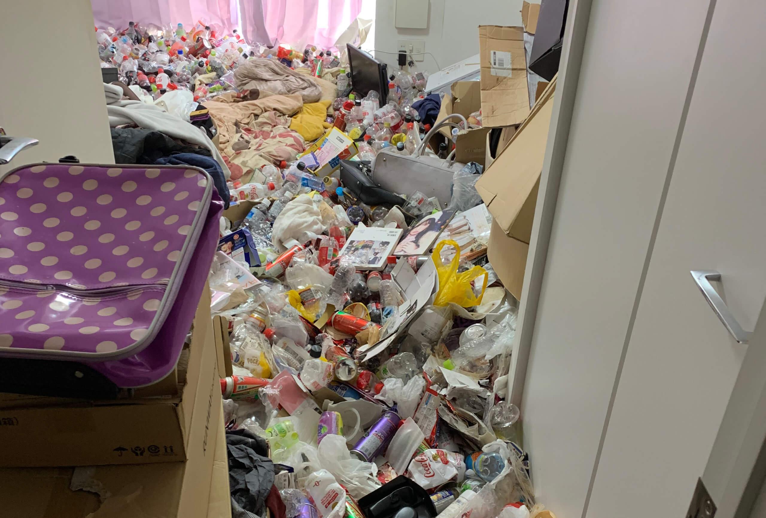 江戸川区W様のゴミ屋敷清掃事例