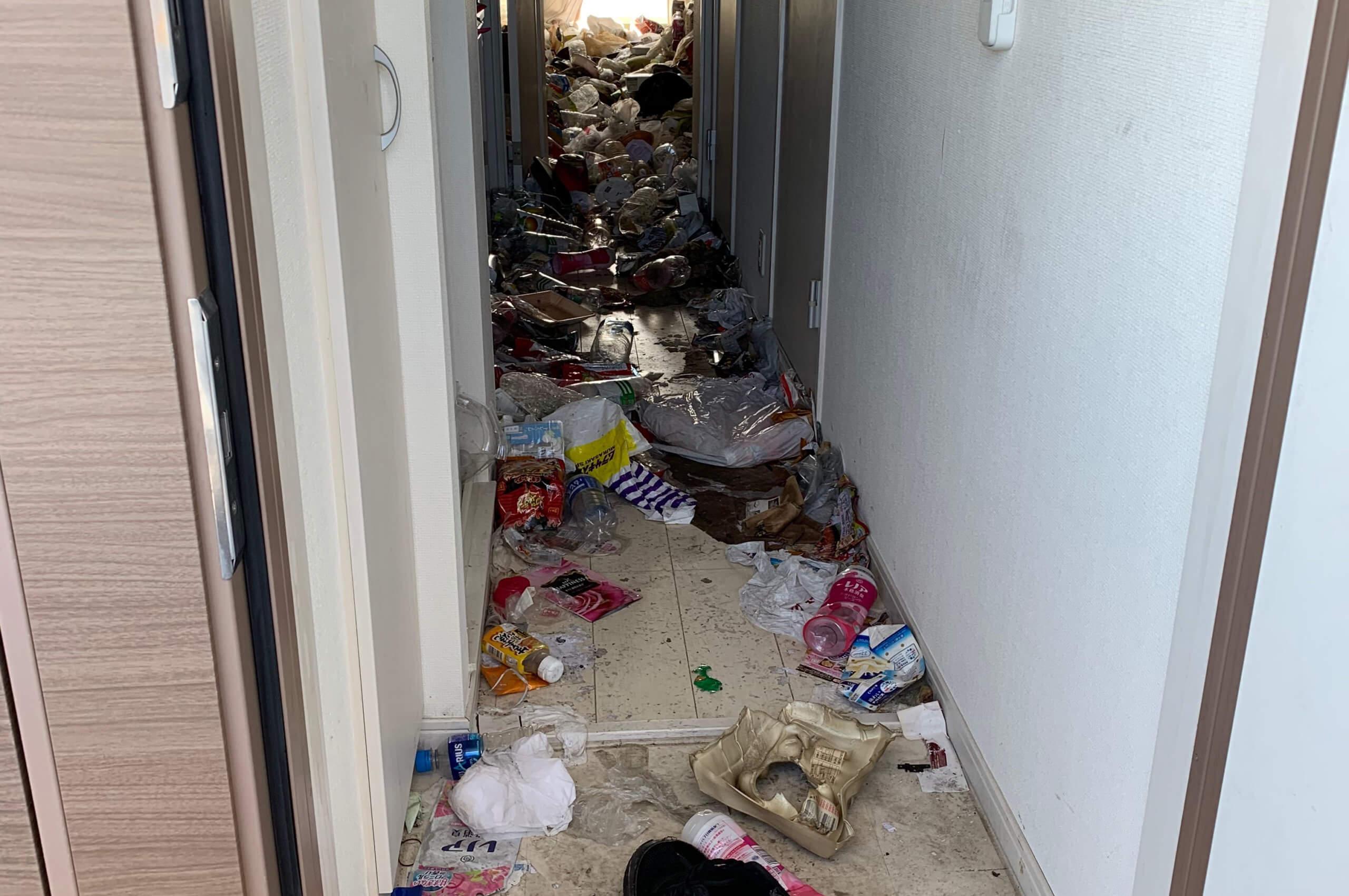 大阪市福島区のゴミ屋敷掃除