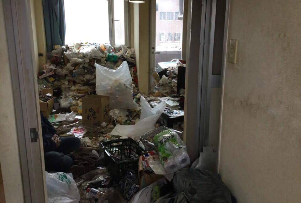 大阪市城東区でゴミの片付け
