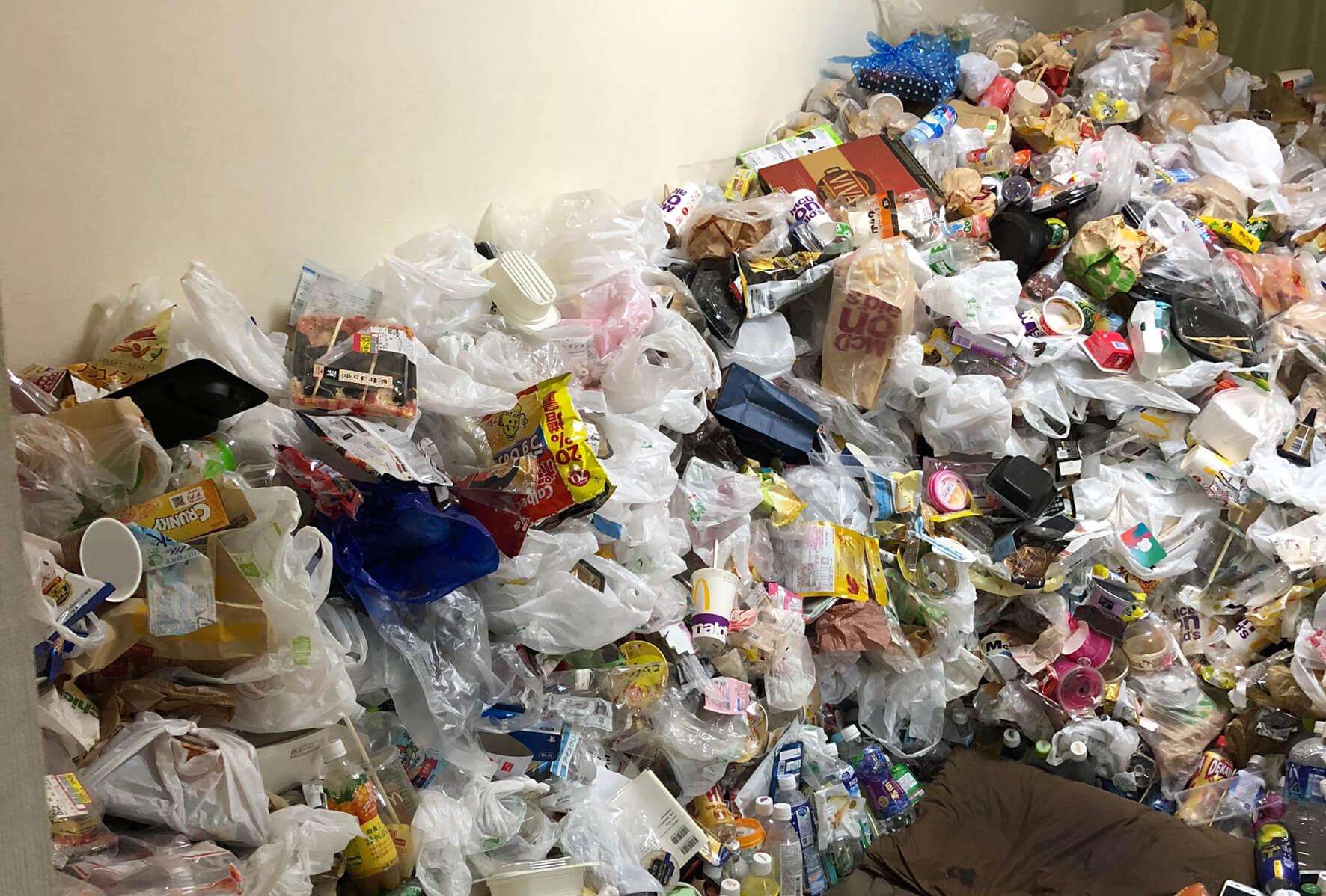 城東区でゴミ屋敷をお掃除