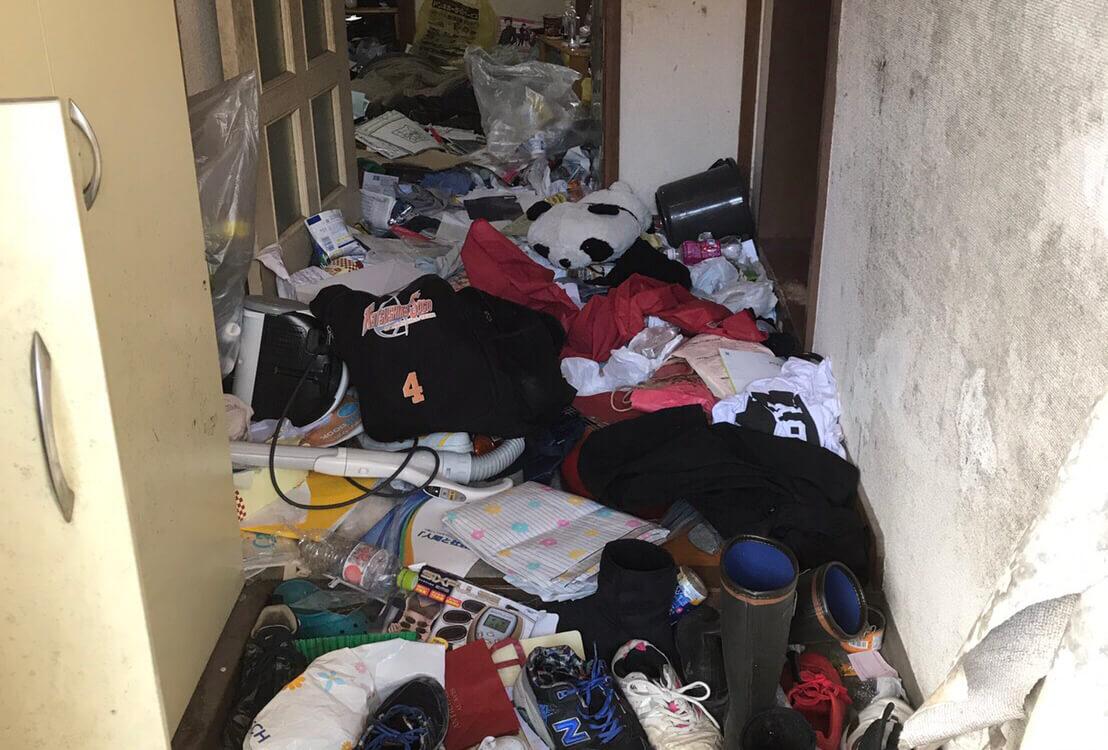 葛飾区T様のゴミ屋敷清掃事例