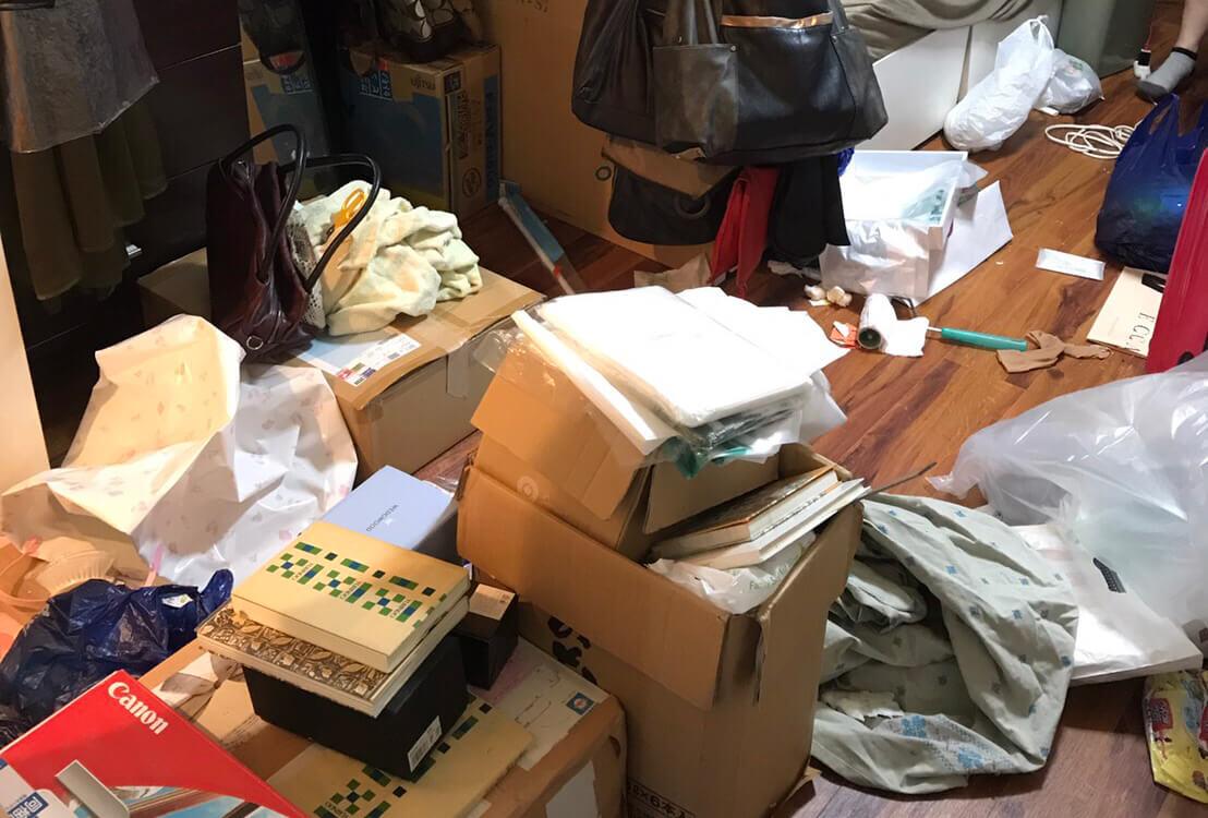 江東区F様のゴミ屋敷清掃事例