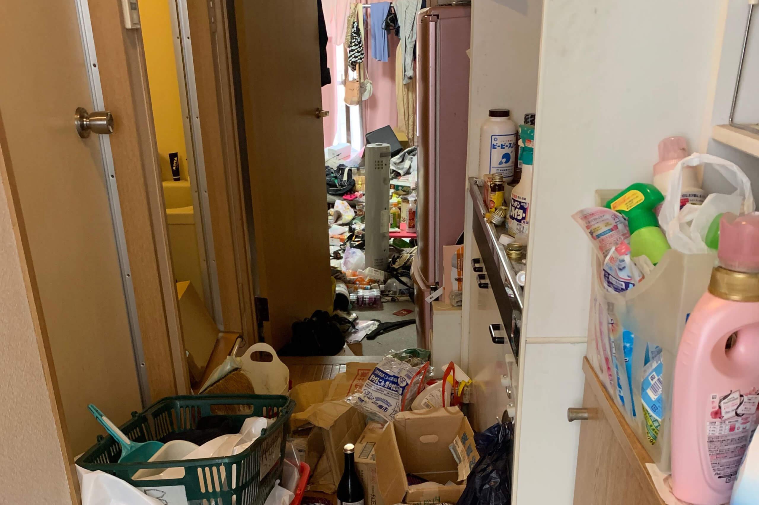 大阪市西淀川区のゴミ屋敷掃除