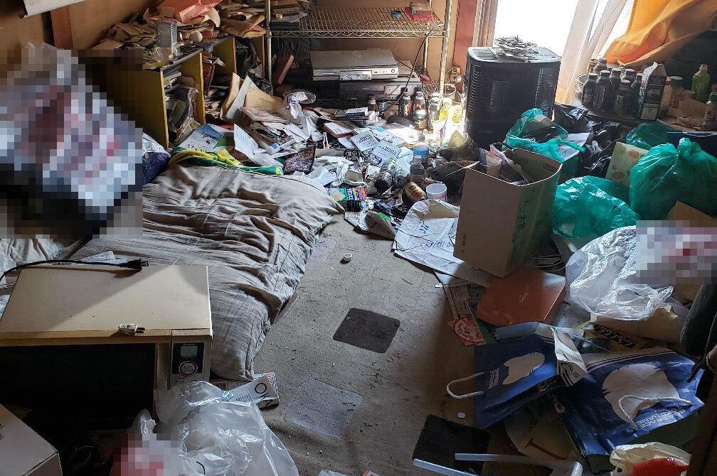 大阪市西成区のゴミ屋敷掃除