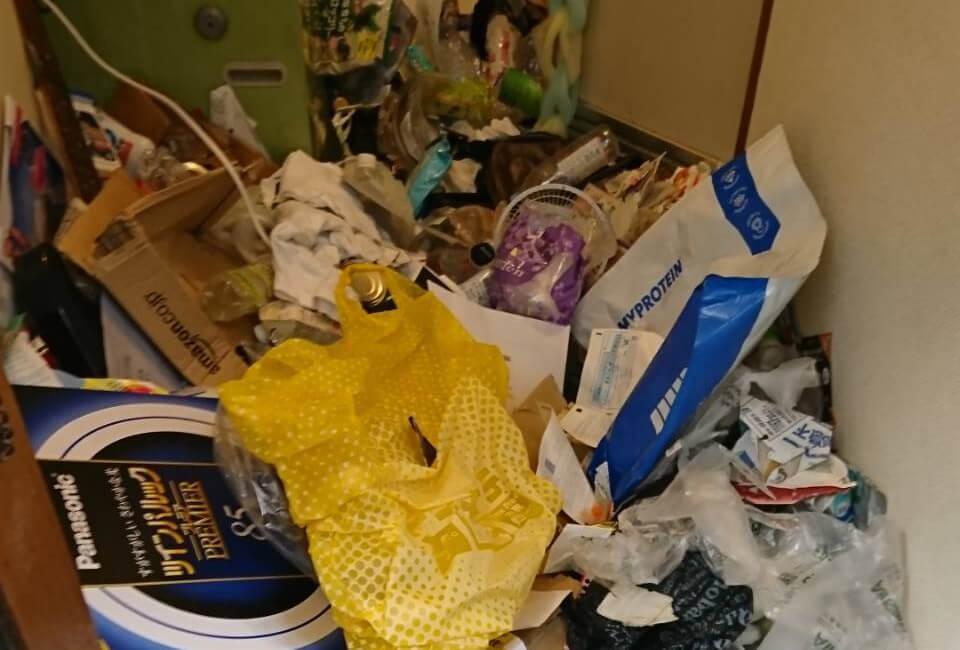 大田区O様のゴミ屋敷清掃事例