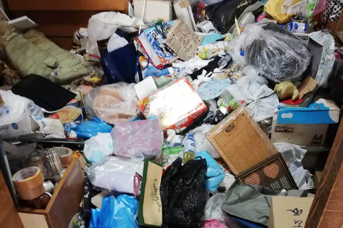 大阪市堺区のゴミ屋敷清掃