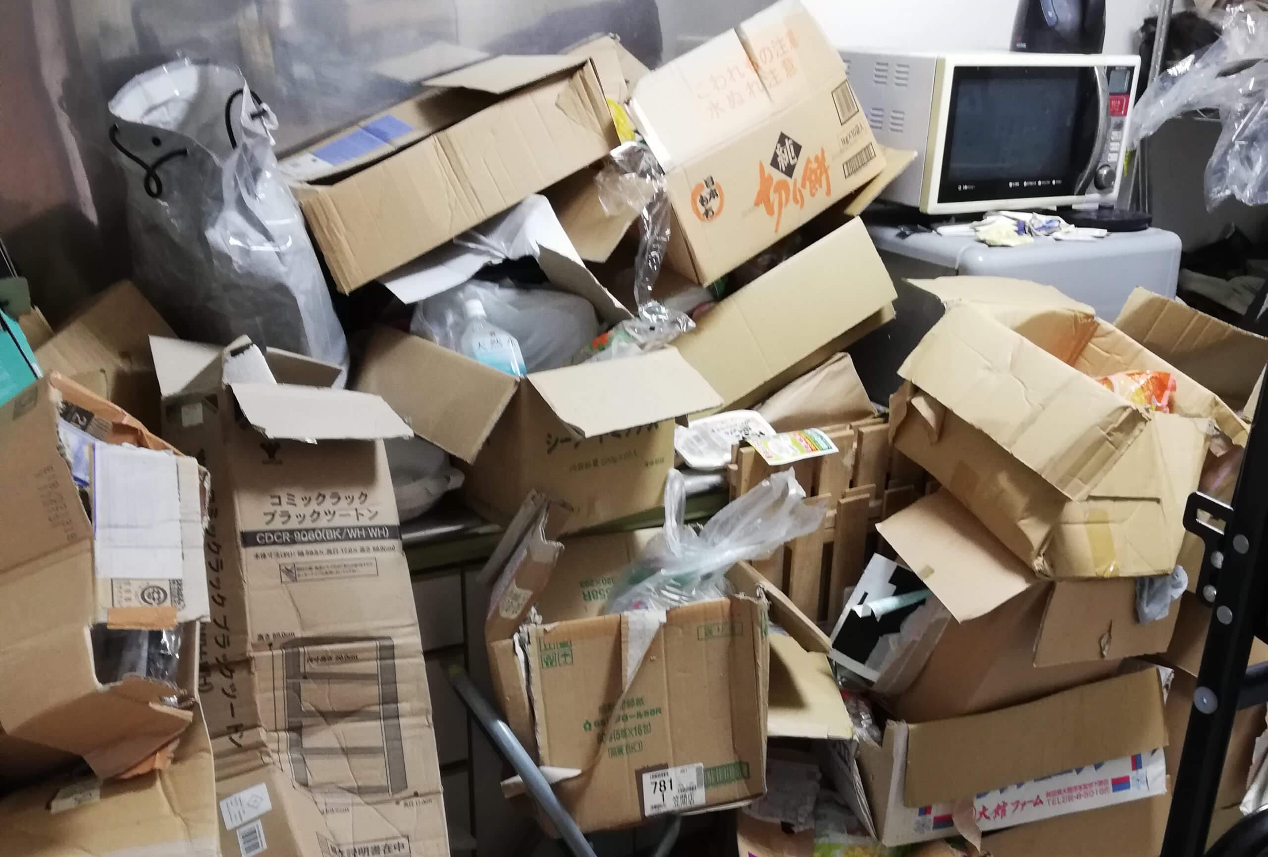 世田谷区NTの不用品回収事例