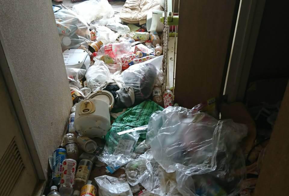杉並区S様のゴミ屋敷清掃事例