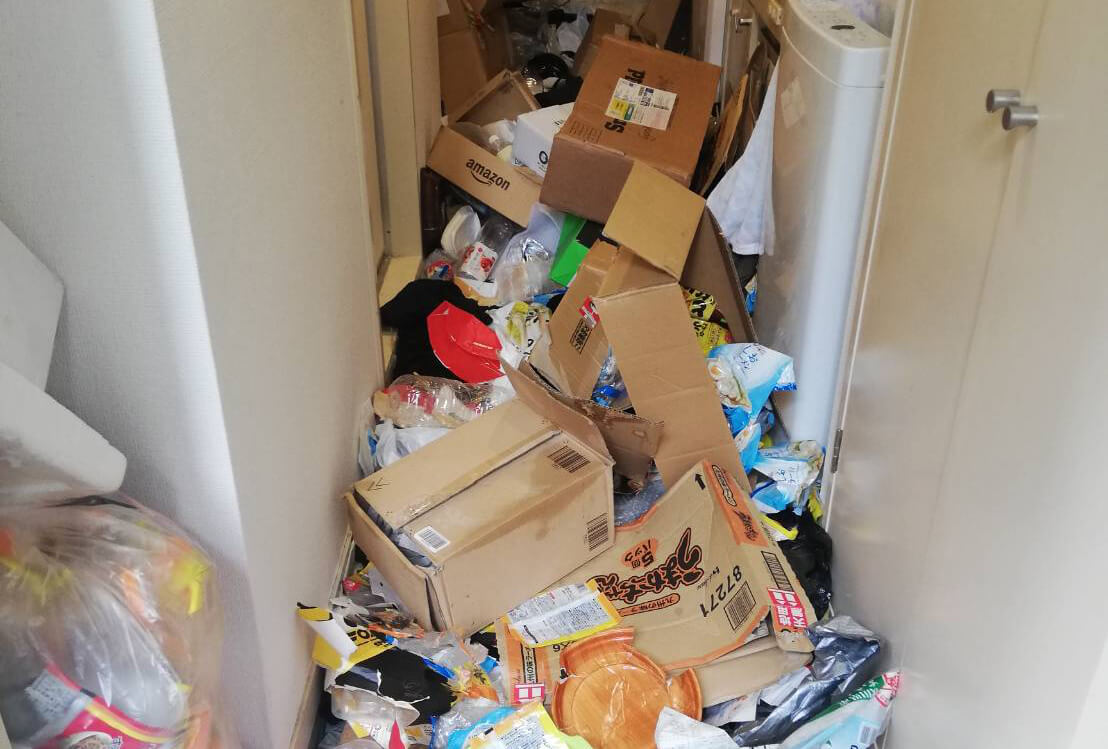 杉並区Y様のゴミ屋敷清掃事例