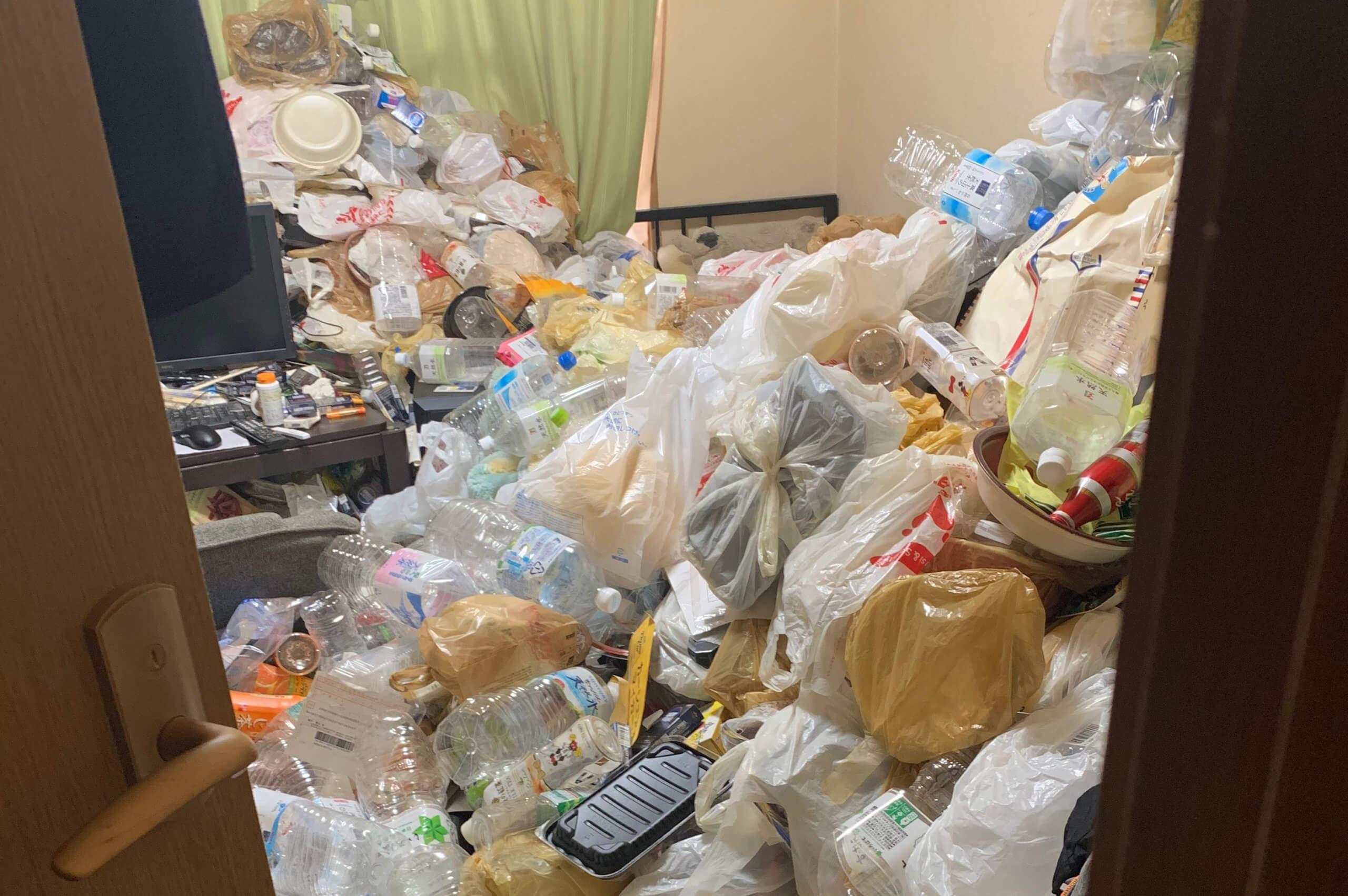 大阪市住之江区のゴミ屋敷掃除