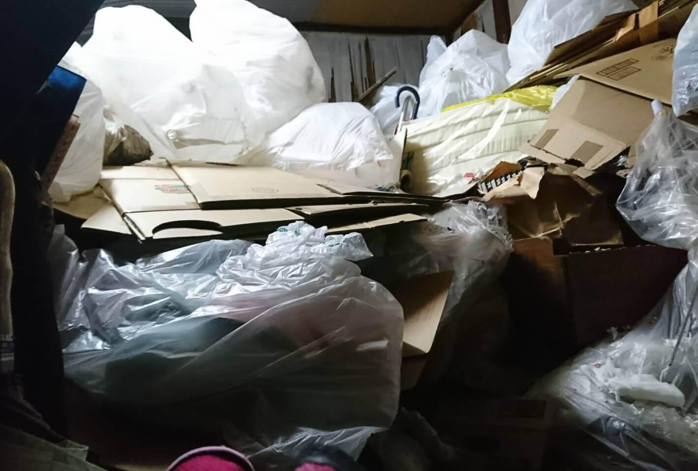 台東区A様のゴミ屋敷清掃事例