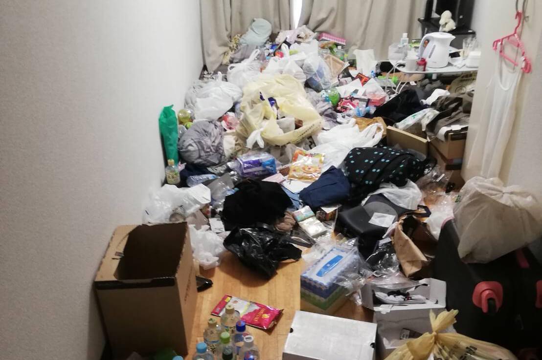 大阪市天王寺区のゴミ屋敷掃除