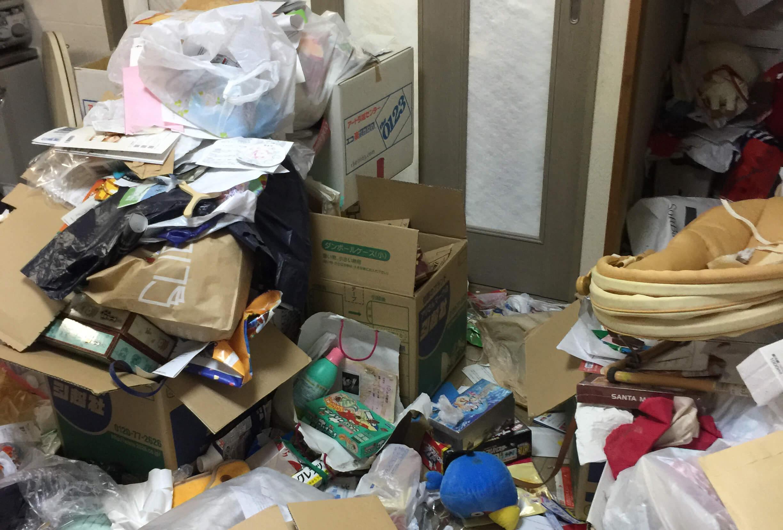 荒川区B様のゴミ屋敷清掃事例