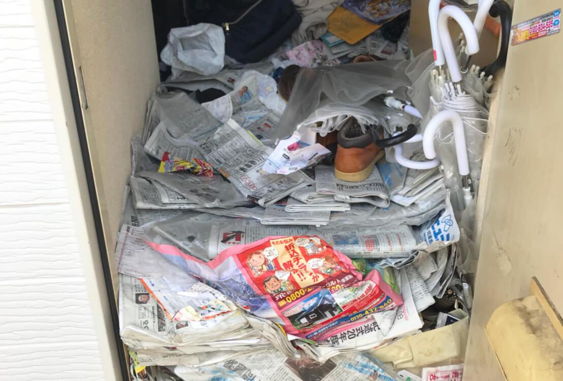 東京都北区K様のゴミ屋敷清掃事例