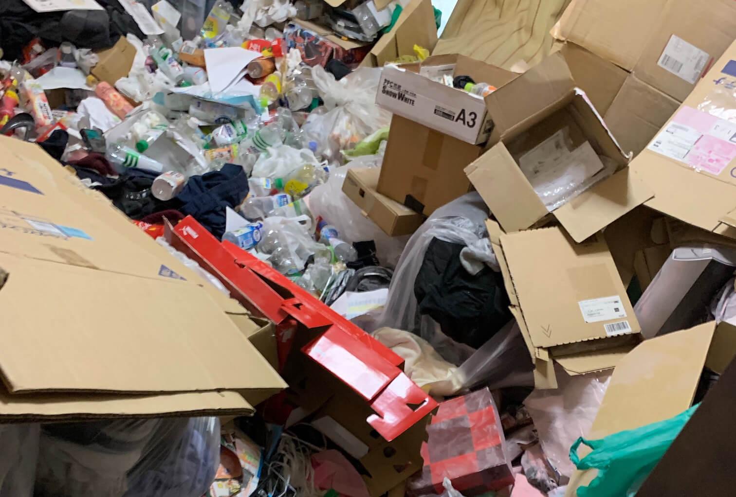 中野区N様のゴミ屋敷清掃事例