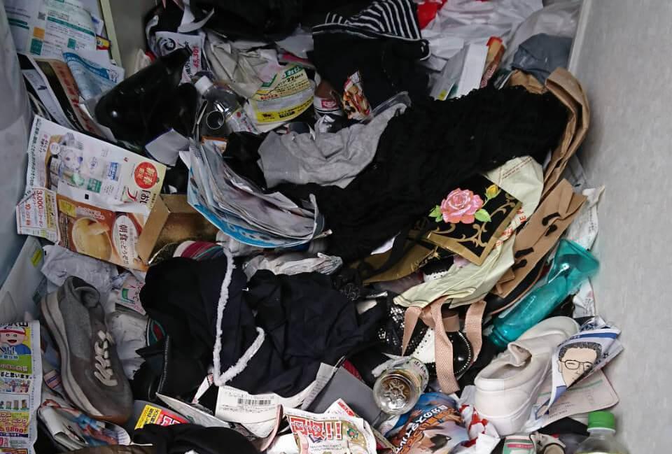 中野区R様のゴミ屋敷清掃事例