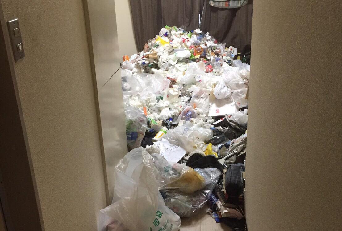 中野区T様のゴミ屋敷清掃事例