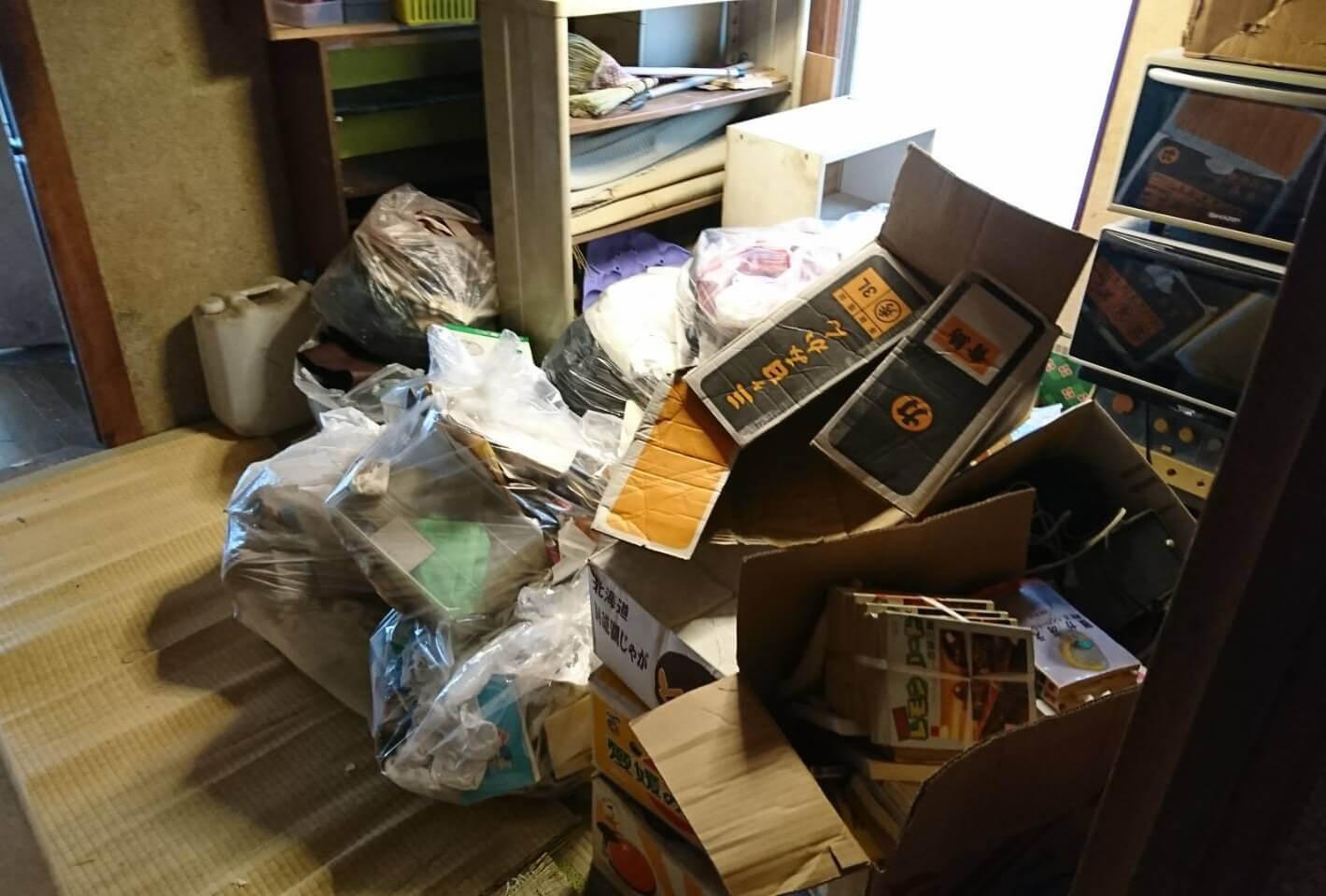 練馬区N様のゴミ屋敷清掃事例