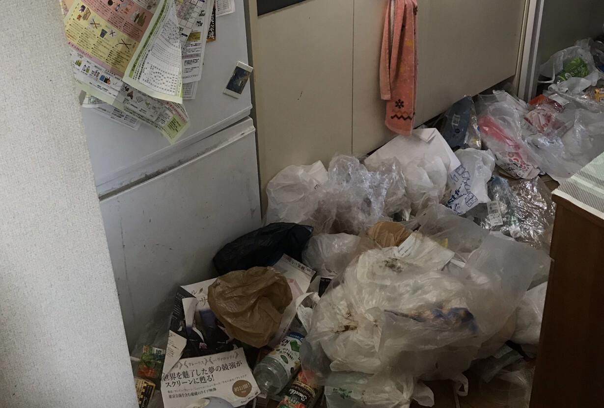 品川区E様のゴミ屋敷清掃事例