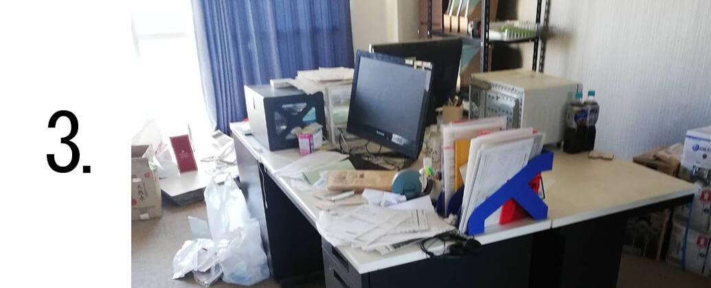 引っ越しに伴う不用品の回収