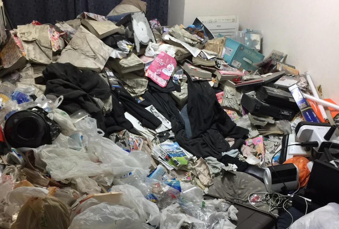 豊島区Y様のゴミ屋敷清掃事例