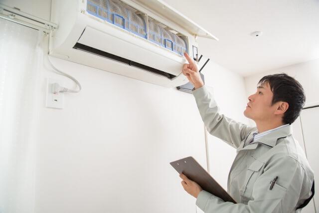 エアコンの掃除方法について