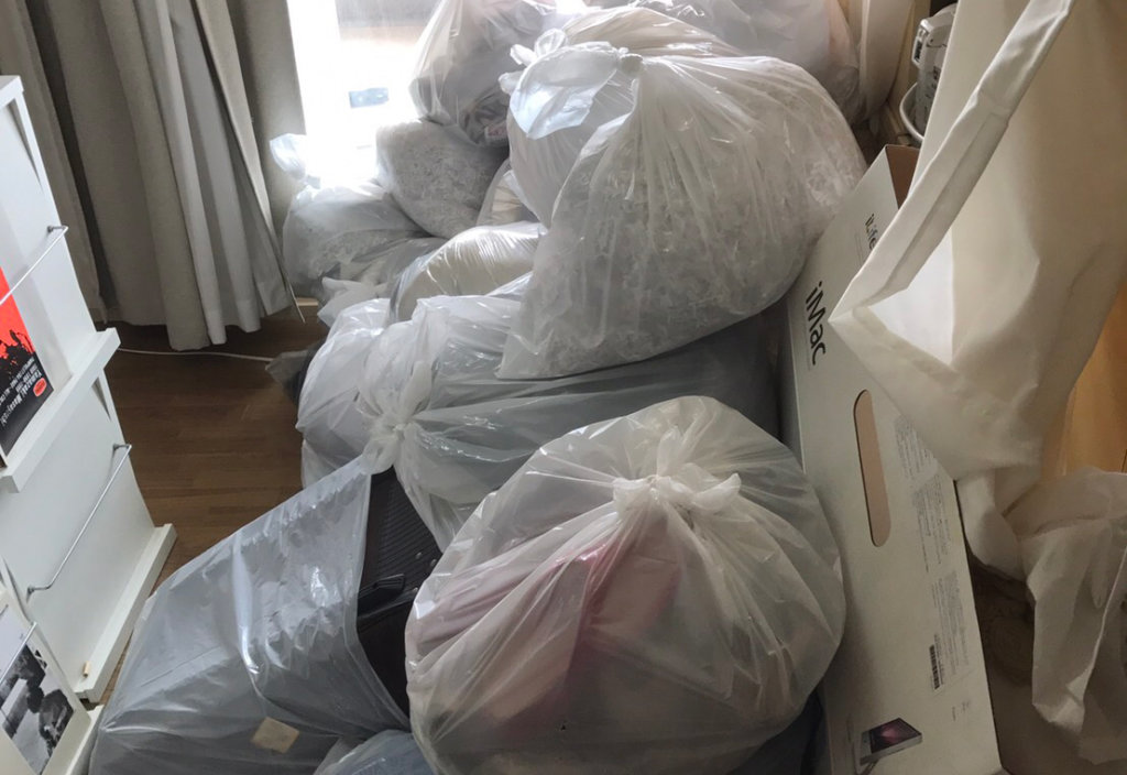 大阪市旭区A様の不用品回収