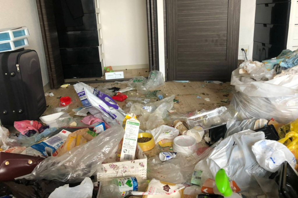 平野区S様のゴミ屋敷清掃事例