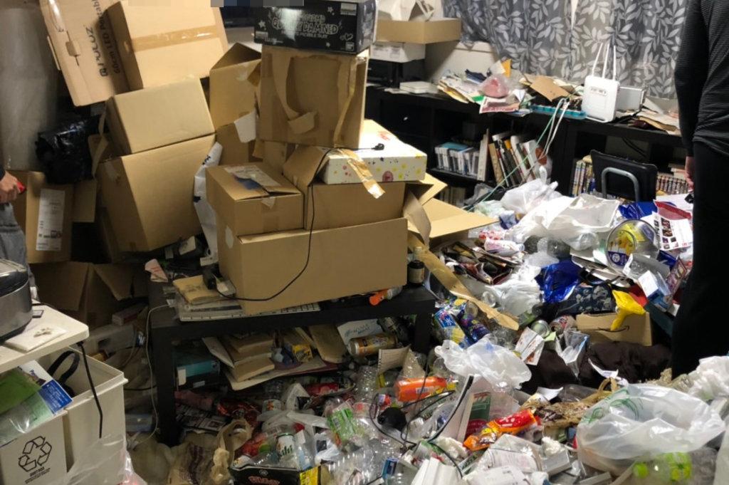 大阪市港区N様のゴミ屋敷清掃