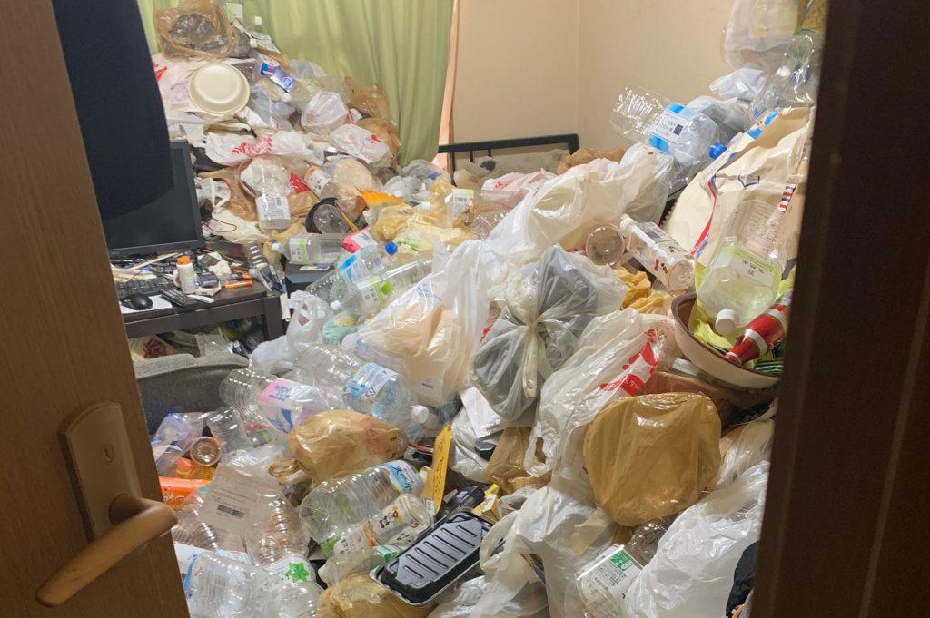 住之江区H様のゴミ屋敷清掃事例