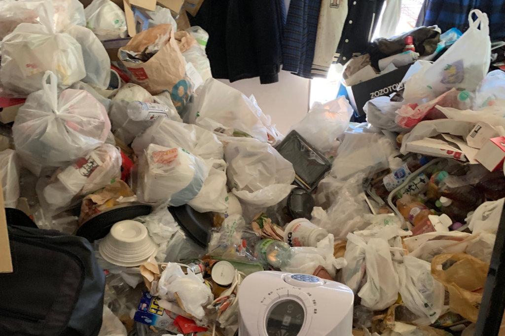 大正区N様のゴミ屋敷清掃事例