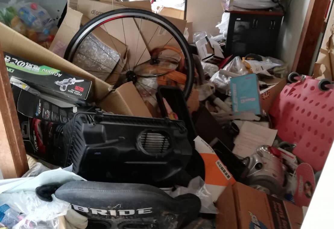 金沢区I様のゴミ屋敷清掃