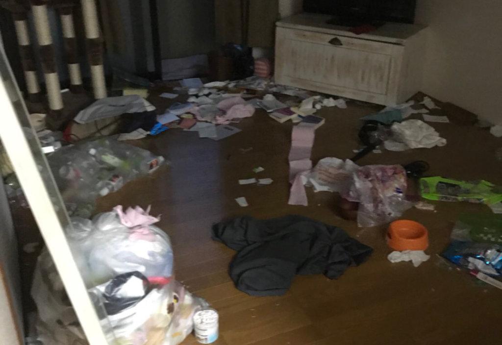 北区M様のゴミ屋敷清掃事例