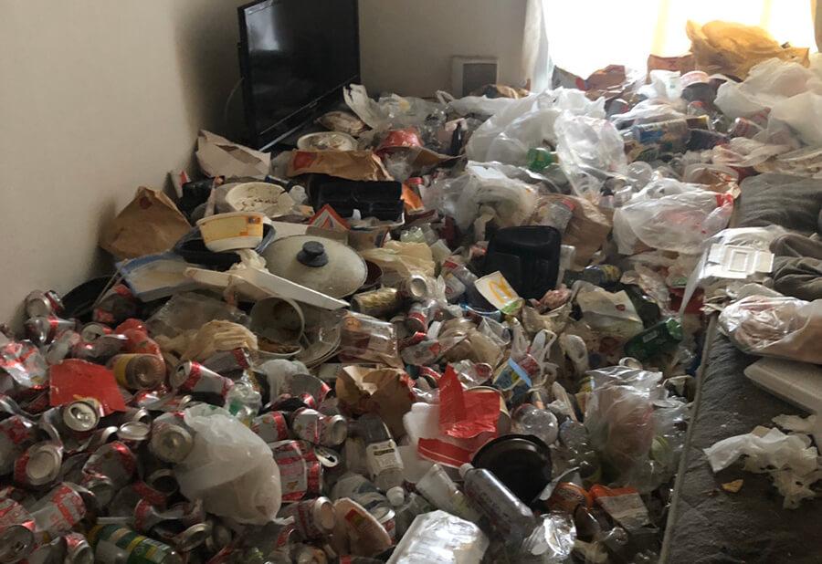 南区H様のゴミ屋敷清掃事例