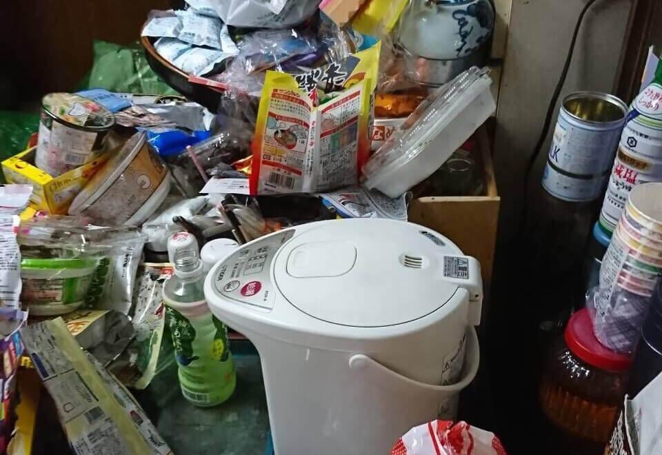 瑞穂区A様のゴミ屋敷清掃事例