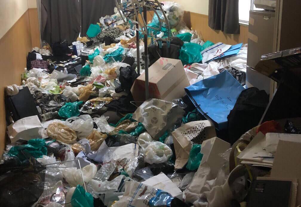 瑞穂区K様のゴミ屋敷清掃事例