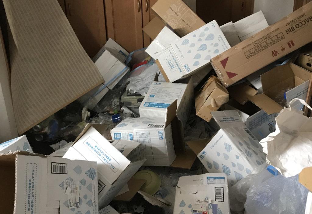 守山区F様のゴミ屋敷清掃事例