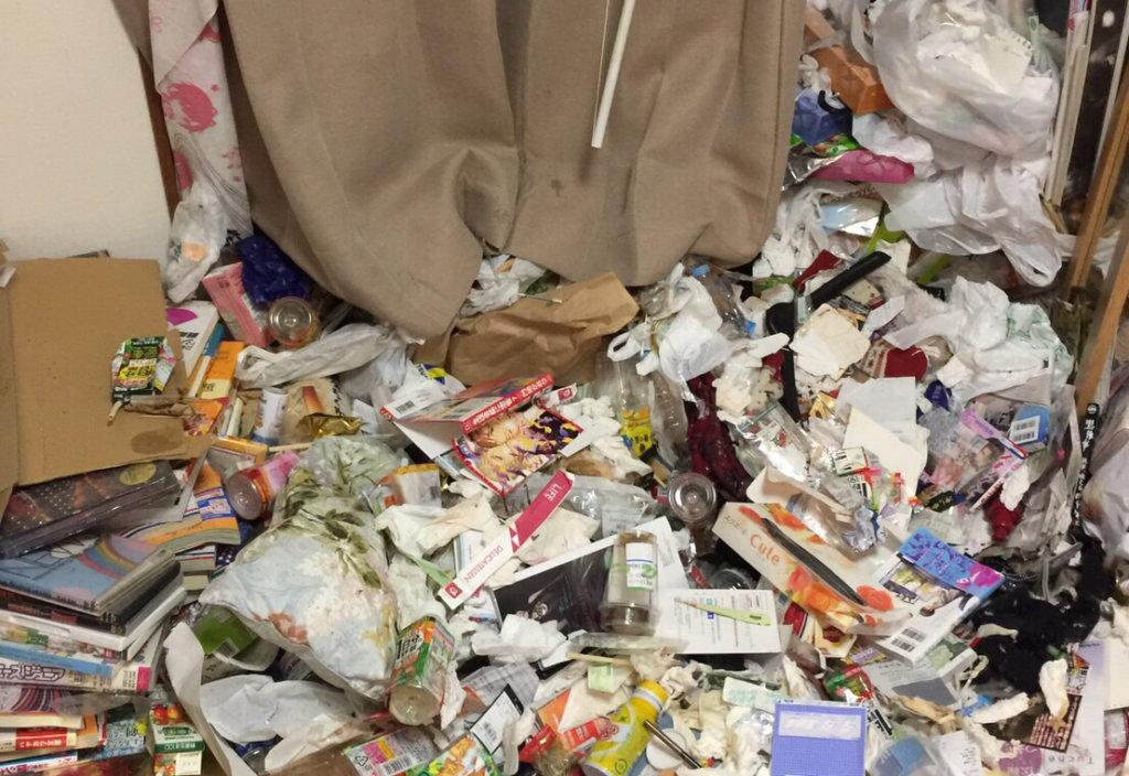 昭和区A様のゴミ屋敷清掃事例