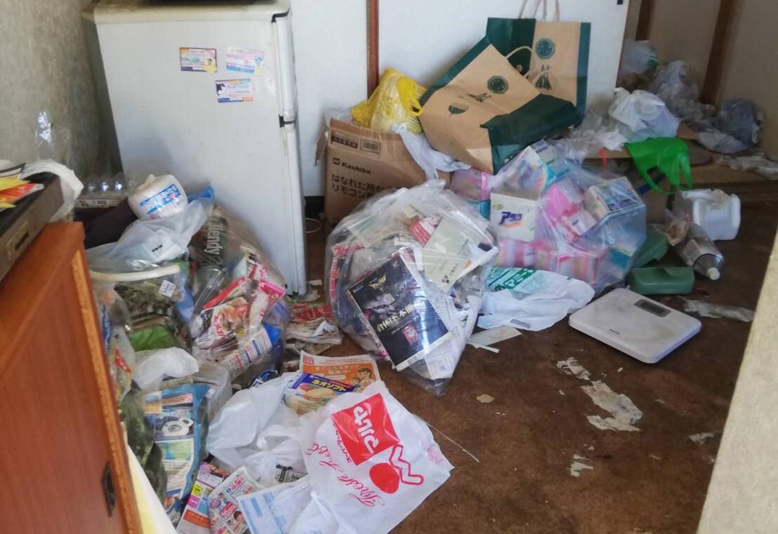 岩槻市T様のゴミ屋敷清掃