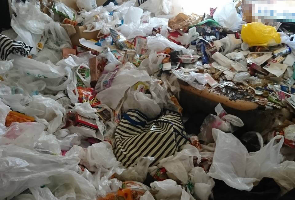 緑区Y様のゴミ屋敷清掃
