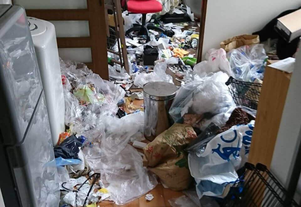 麻生区O様のゴミ屋敷清掃