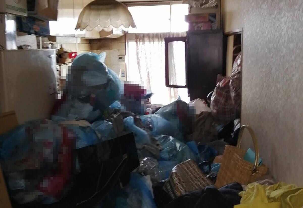 江戸川区N様のゴミ屋敷清掃