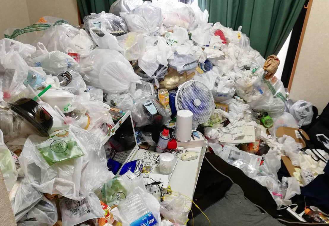 稲城市M様のゴミ屋敷清掃