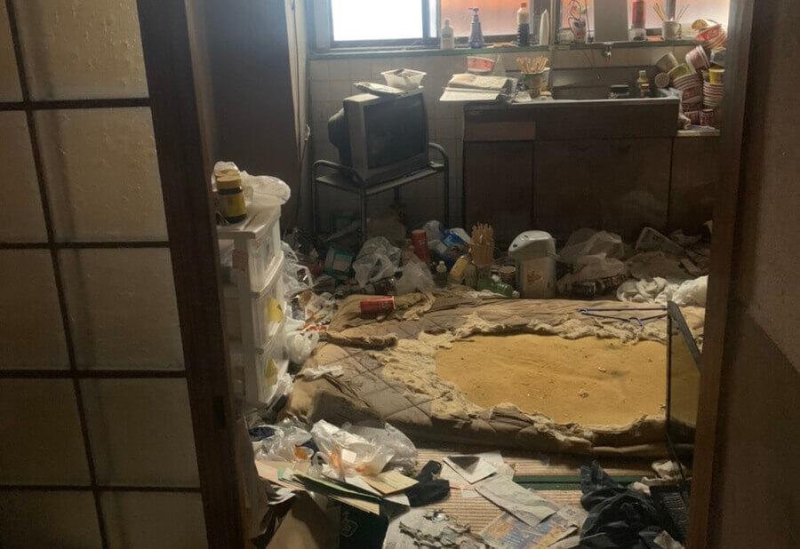 堺市北区O様の引っ越しに伴う回収